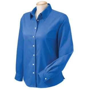 Chestnut Hill Womens Dress Shirt Performance Plus Oxford Ch580W at