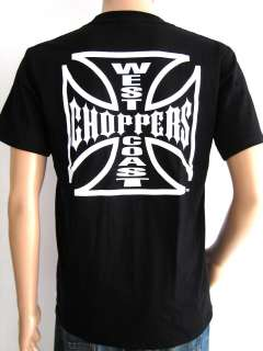 WEST COAST CHOPPERS T SHIRT CUSTOM MOTORCYCLES BIKER ROCK ROADSTER