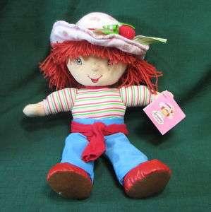 Strawberry Shortcake Doll Plush Toy by Kellytoy 2004