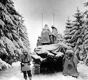 ARMY 82ND AIRBORNE DIVISION BATTLE OF THE BULGE