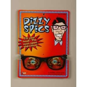 Nerd Dizzy Specs Eye Glasses Halogram Costume Accessory