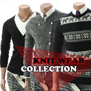 happy lighter Mens Casual Best Knit Wear Sweater & Cardigan Collection
