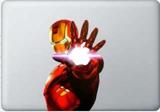 Cool Iron Man Decal Skin Sticker 13 Apple MacBook Air