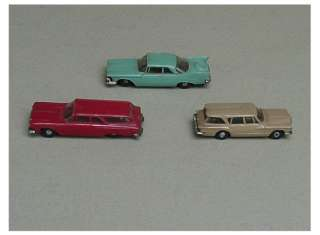 Vtg 1960s MOPAR Plastic Cars~Chrysler Dodge Plymouth Valiant ~ Free