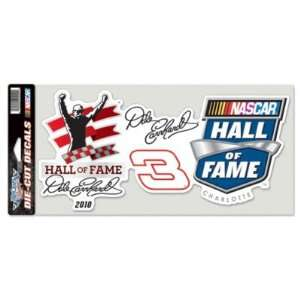 NASCAR DALE EARNHARDT SR. OFFICIAL LOGO 6x12 COLOR DIE CUT DECAL