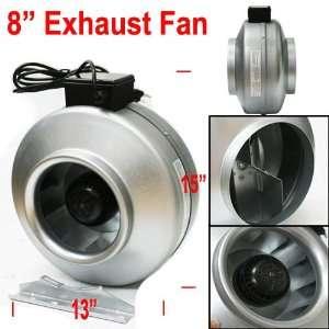 Sunleaves windtunnel 6 inline exhaust fan vortex style au for 8 kitchen exhaust fan