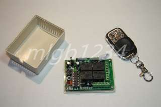 Channel RF Wireless Transmitter Remote Control 433MHz