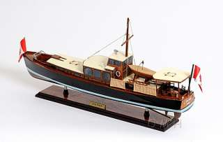 Dolphin Yacht Wooden Model Boat Ship Sailboat Canada