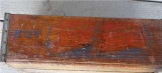 1940s PepsiCola Wood Box, Carrier, Held Four 6 Packs of Pepsi