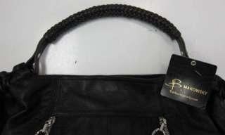 Authentic B Makowsky MICHELLE Leather Shopper Bag $278