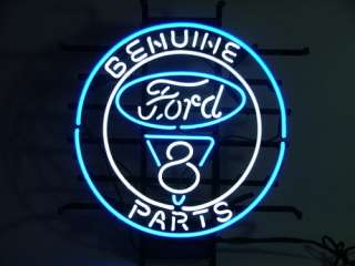 New FORD V8 AMERICAN AUTO BEER BAR PUB NEON LIGHT SIGN