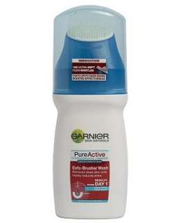 Garnier Pure Active Exfo Brusher Wash   Boots