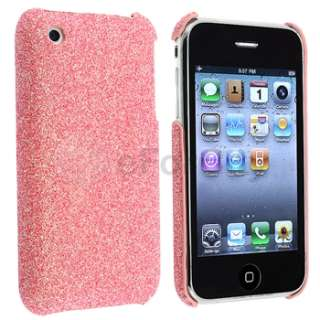 Bling Clip on Hard Case Cover For iPhone 3 3G 3GS Gen OS USA