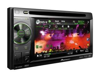 PIONEER AVH 1400DVD 2 DIN iPhone /iPod USB DVD Moniceiver Autoradio