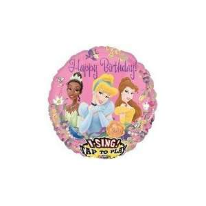 28 Sing A Tune Disney Princess Birthday   Mylar Balloon