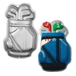 Wilton Golf Bag / Beer Mug / Holiday Yule Log / Cake Pan (2105 1836