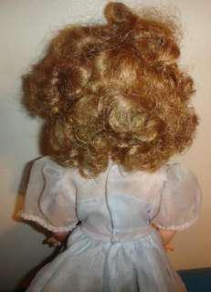 Pretty 1950s 60s IDEAL SHIRLEY TEMPLE DOLL ST 17 1 Original Dress NR