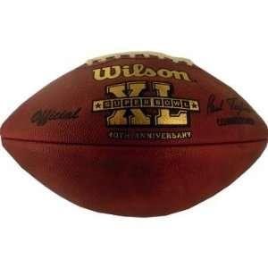 Super Bowl 40 Game Model NFL Football   Sports Memorabilia