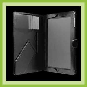 Sena FOLIO Leather book Case 3 positions iPad 2 BLACK 842616015586