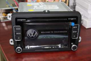VW CD  Car radio RCD510 Passat Polo Golf w.CODE Unused WITHOUT