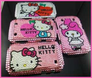 4x Bling Hello Kitty Hard Back Cover Case For BlackBerry Bold 9900