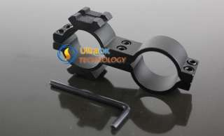 Flashlight Laser Scope Mount Two Side Rail Ring 25mm NW