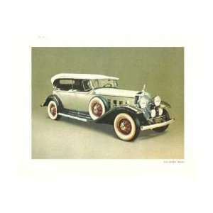 1931 CADILLAC PHAETON CONVERTIBLE Picture Photo Automotive
