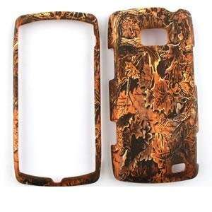 LG ALLY VS740 Brown leaves CAMO CAMOUFLAGE HUNTER HARD