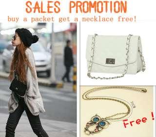 Fashion Shoulder Bag Quilting Chain Cross Korean Ladies Handbag