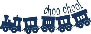 Choo Train Wall Decal   Vinyl Wall Decals Stickers Art Graphics