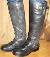 STEVE MADDEN WOMENS BLACK ZOIIEE BOOTS LIKE ROADY LAST PAIR LEFT!! SZ
