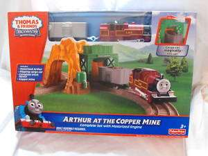 TRACKMASTER THOMAS TRAIN ARTHUR AT THE COPPER MINE SET
