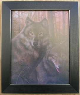 Wolf Pictures Wildlife Framed Country Wolf Picture Print For Interior