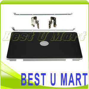 NEW Black LCD Lid Cover Top Cover + Hinge For DELL Inspiron 1525 1526