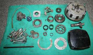 Used OEM Lot of Motor Parts for Husqvarna 125 L/C Vintage