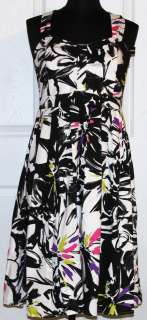 New Directions~Womens Sleveless Floral Dress~Size 10 ~NWT