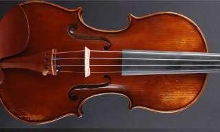 Italian Label Antiqued Model Violin 4/4 Stefano Scarampella 1918