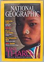 National Geographic Magazine September 2000 RANA THARU