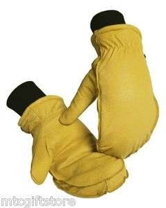 EXTRA LARGE   XL Polapile™ Pigskin Leather Work Mitten 1367