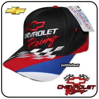 NEW CHEVROLET RACING CHEVY SPORTS RALLY BALL HAT CAP