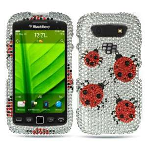 Crystal BLING Hard Case Phone Cover BlackBerry Torch 9850 9860