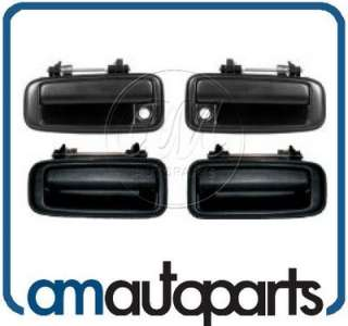 Toyota Corolla Geo Prizm Outer Outside Exterior Door Handle 4 Piece
