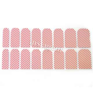 288 styles Nail Art Sticker Colorful Patch Foils Armour wraps