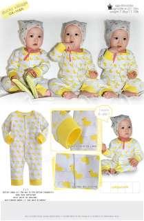 in Korea Ducky Villiage Baby Boy Girl Infant Cotton Clothing / OA 1084