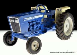 4600 Widefront Tractor 1/12 Die Cast Model Toy #304 No Cab Blue