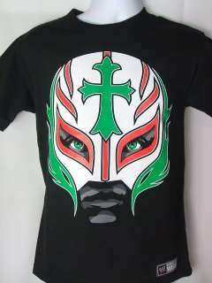 Rey Mysterio Mexican Mask WWE T shirt New