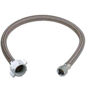 In. Polymer Braid Toilet Water Connector BF3 12DL F