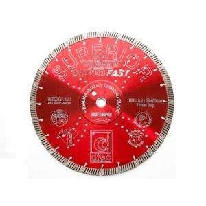 Dtec 14 In. Superior Diamond Blade   Wet/Dry Multi Purpose Superfast