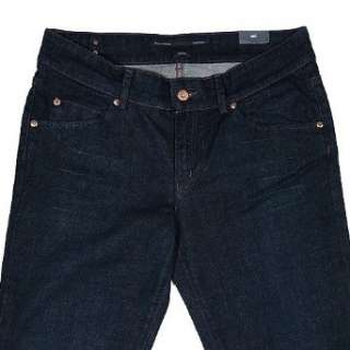 Marc o Polo, Damen Jeans, 810 9143 12057 Lotta, darkblue used aged