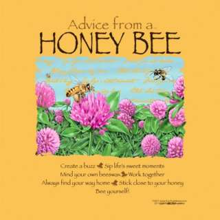 Advice From A Honey Bee will delight any nature lover or self help